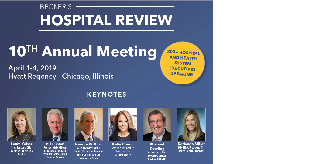 10th Annual Becker's Hospital Review Meeting