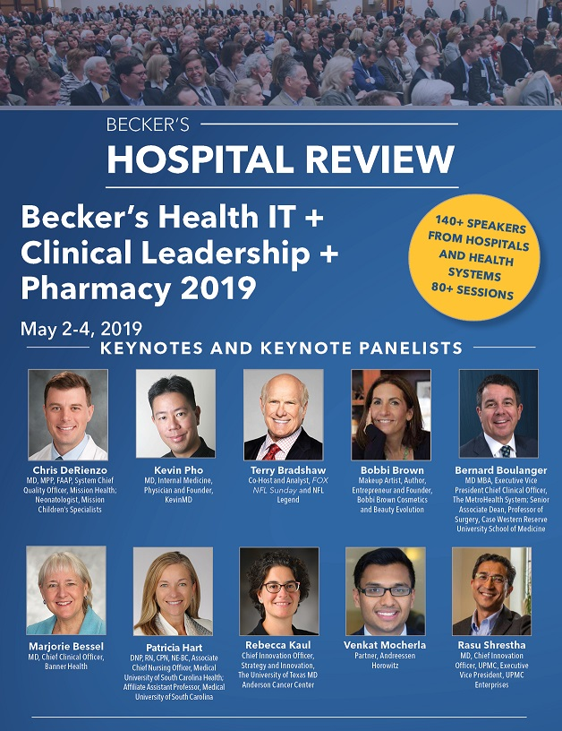 May 2019 Conference Brochure cover