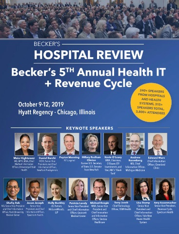 Becker's HIT + RCM Conference