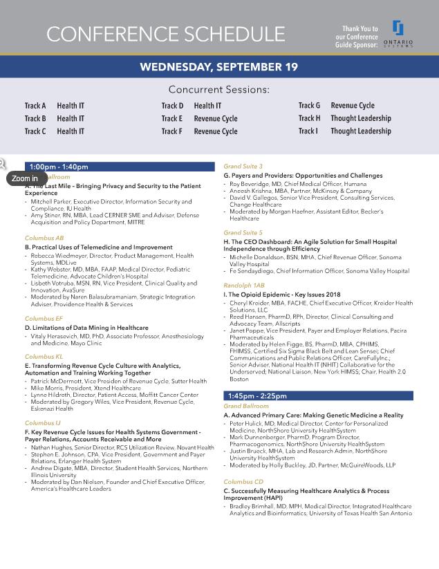 September Agenda Cover