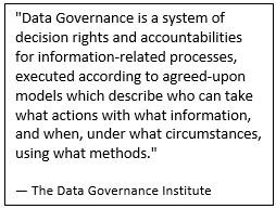 Data Governance pull quote