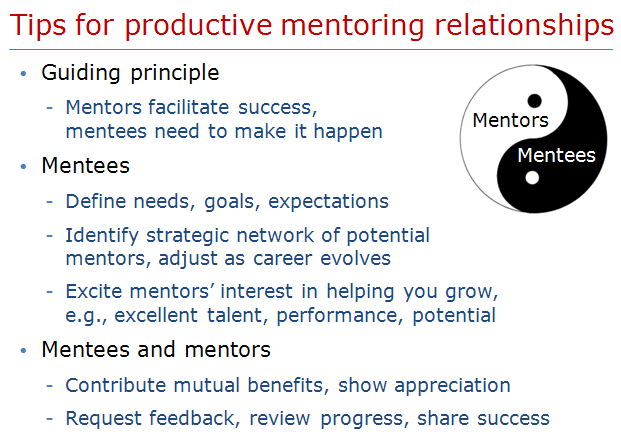 Mentoringrelationships