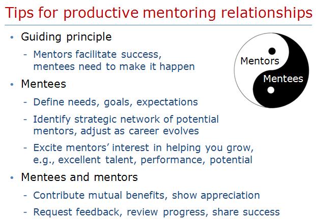 Mentoringrelationships