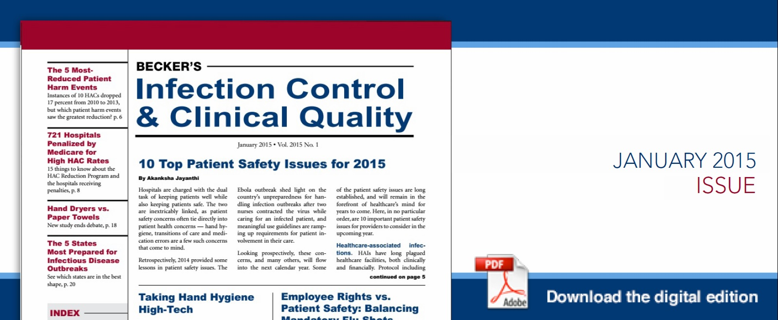 Infection Cover Jan 2015