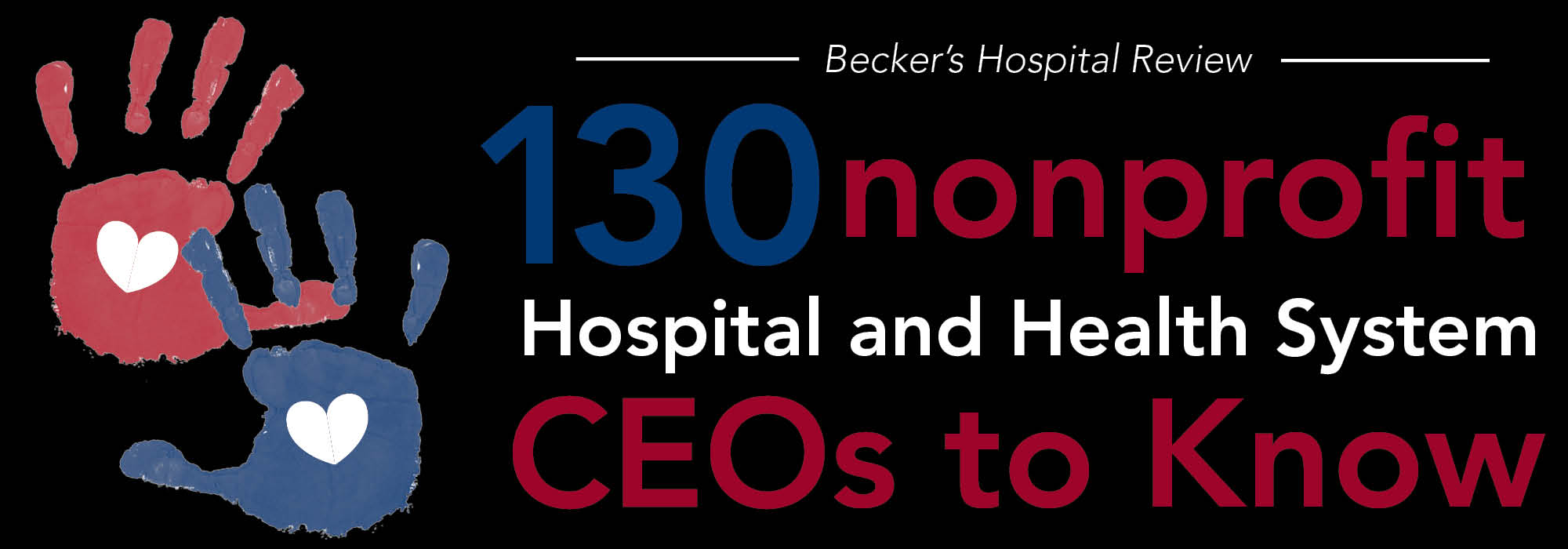 130 nonprofit hospital and health system CEOs to know | 2015