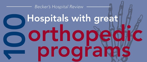 100 hospitals with great orthopedic programs | 2015