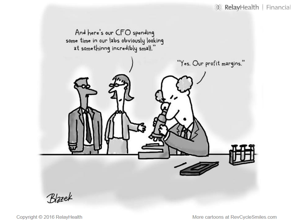 Cartoon – CFO Spending Time in our Lab | HENRY KOTULA