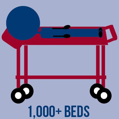 5. 1000-beds