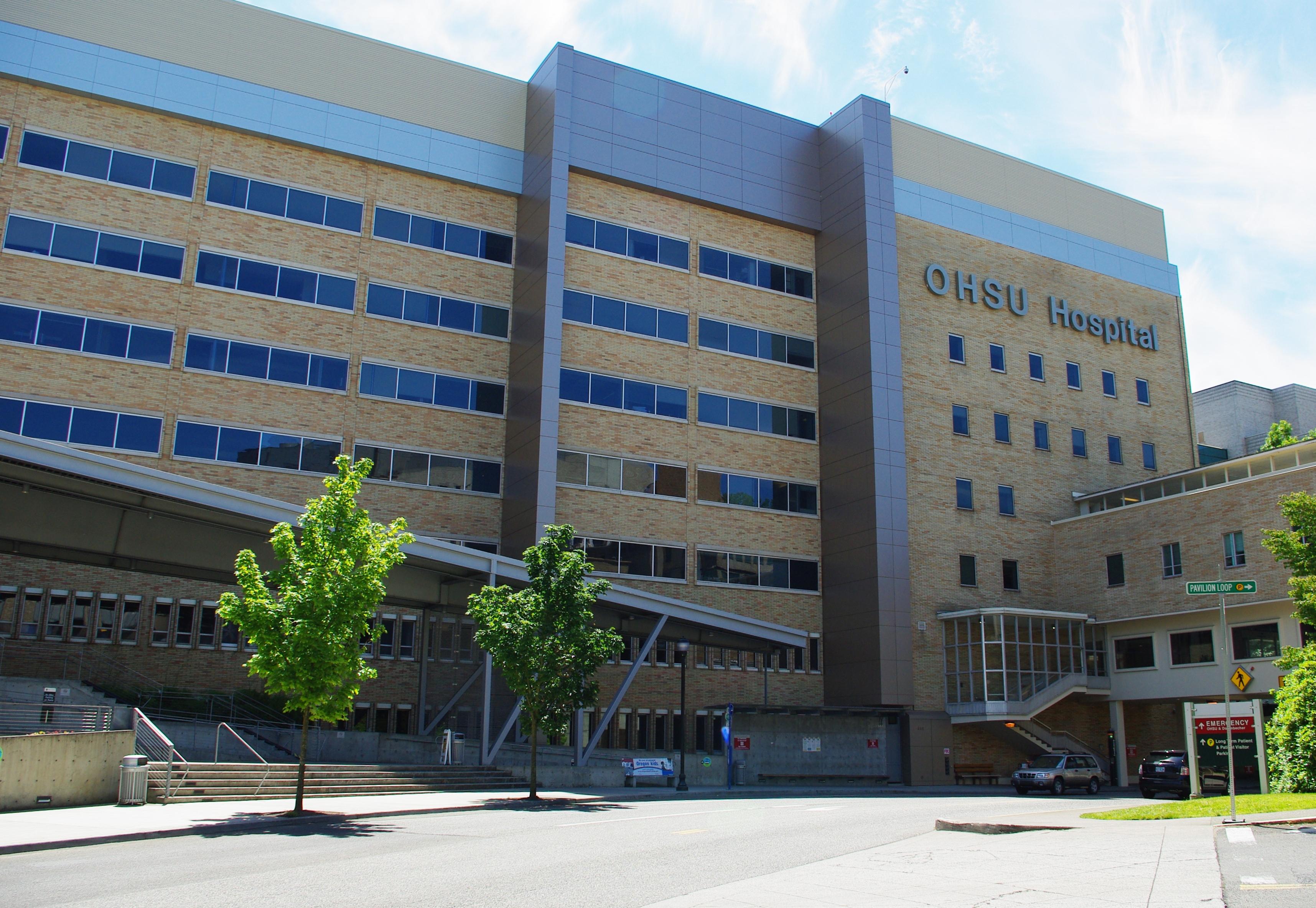 Oregon Health and Science University Hospital (Portland).