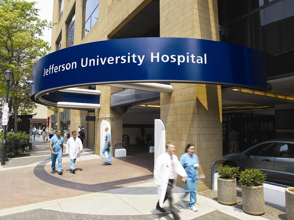Thomas Jefferson University Hospitals 100 Great