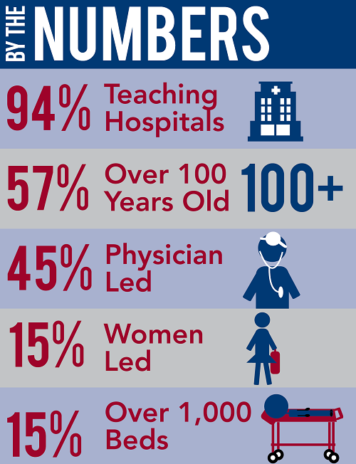 Number Of Hospitals In The Us By Bed Size