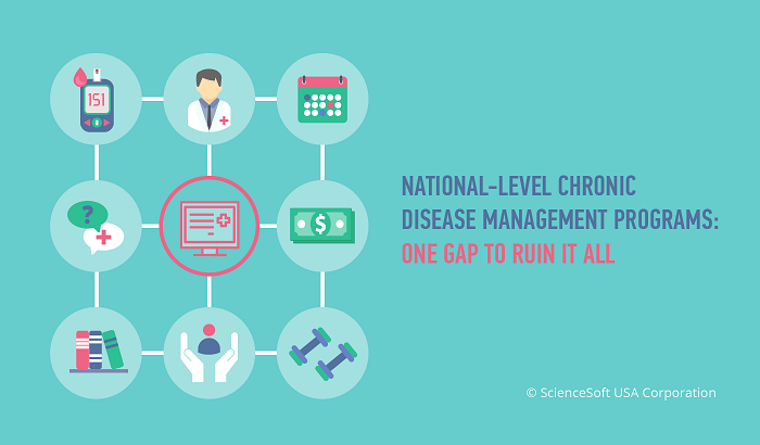 National-level chronic disease management programs One gap to ruin it all