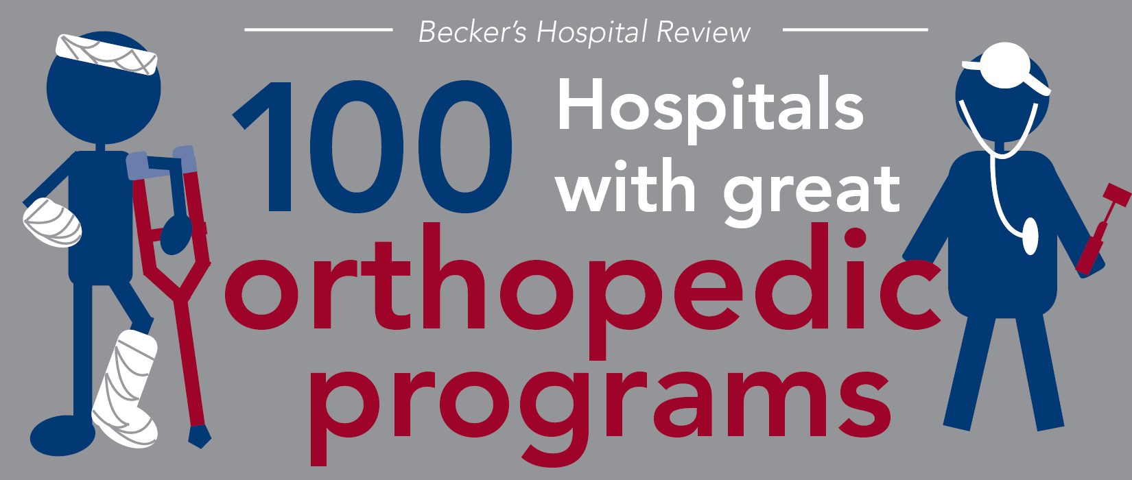 100 hospitals with great orthopedic programs | 2016