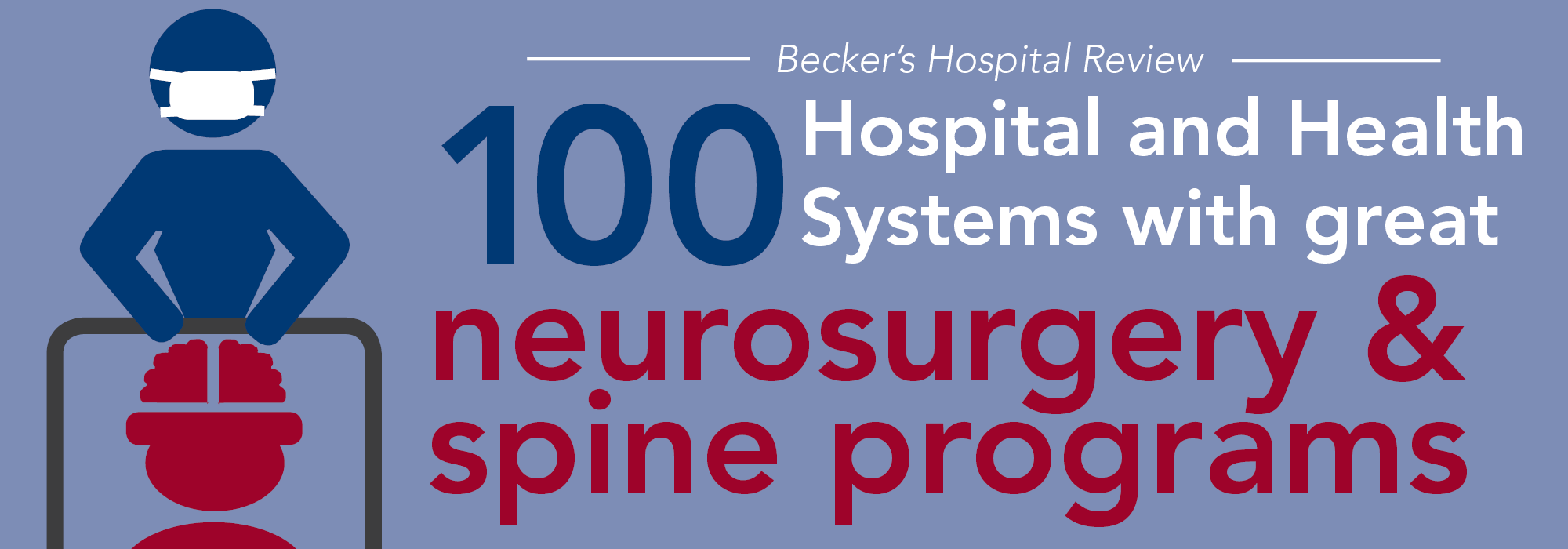 100 hospitals and health systems with great neurosurgery and