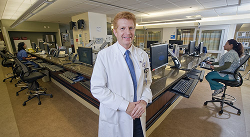 James adams 100 hospital and health system cmos to know 2017 for Northwestern virtual tour