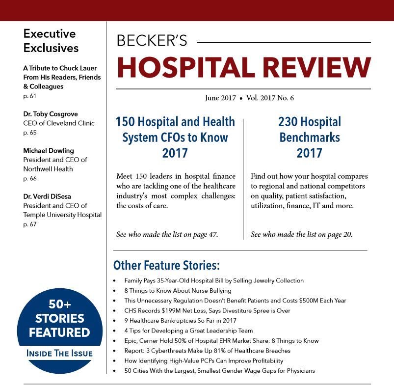 June 2017 issue of beckers hospital review malvernweather Images