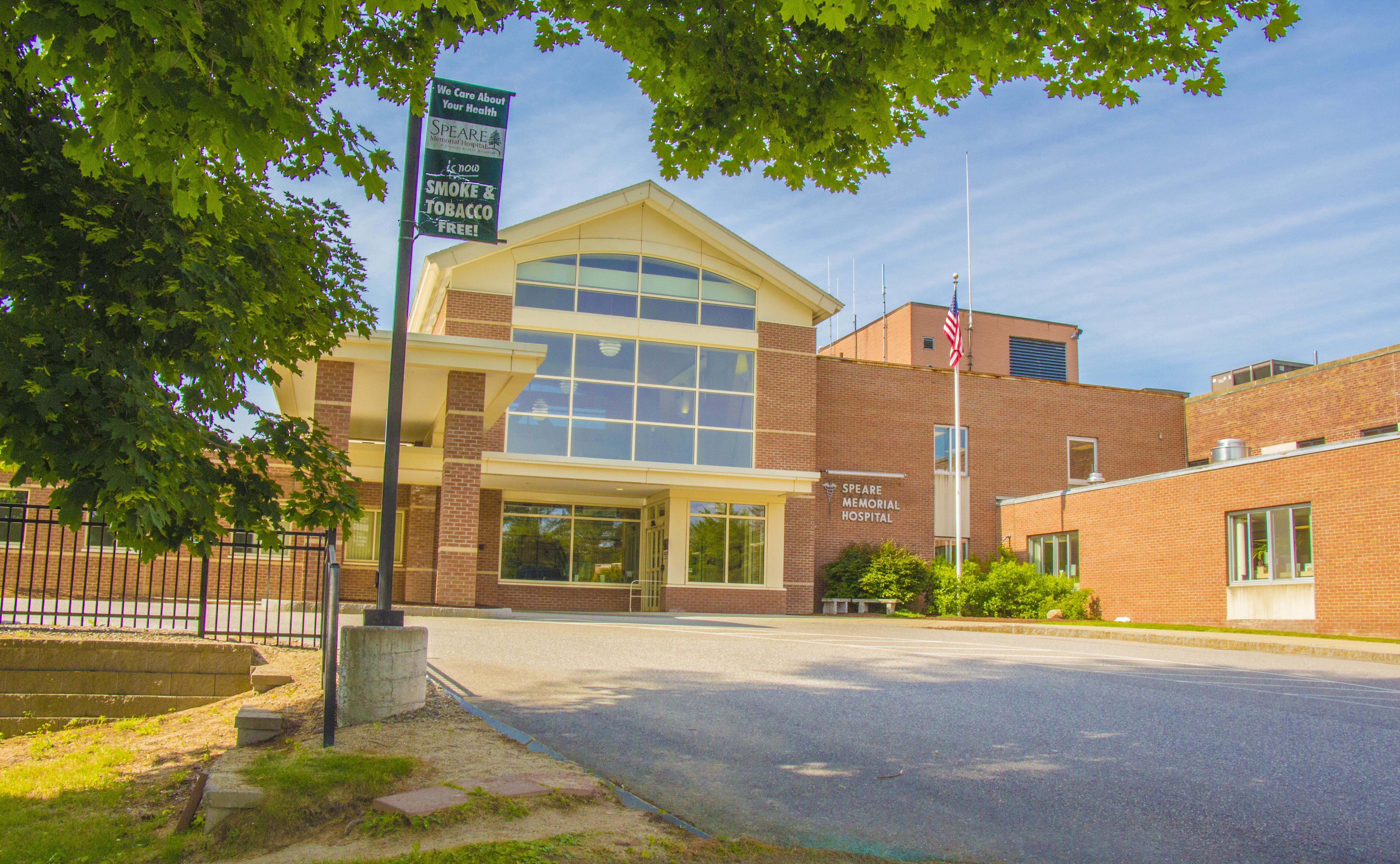 Speare Memorial Hospital exterior