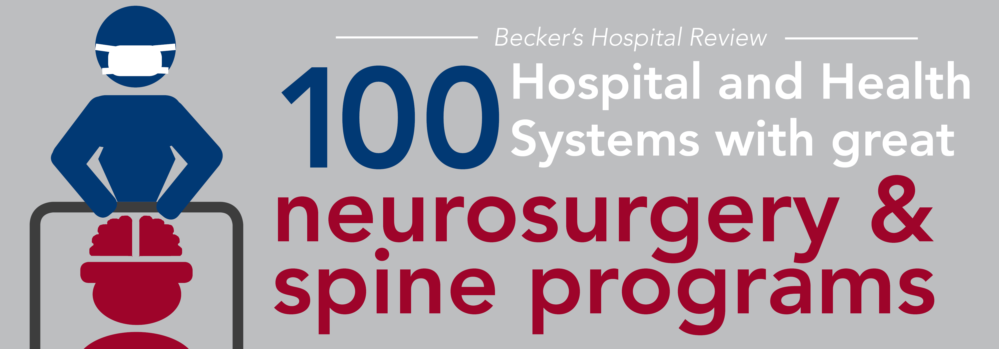 100 hospitals & health systems with great neurosurgery and