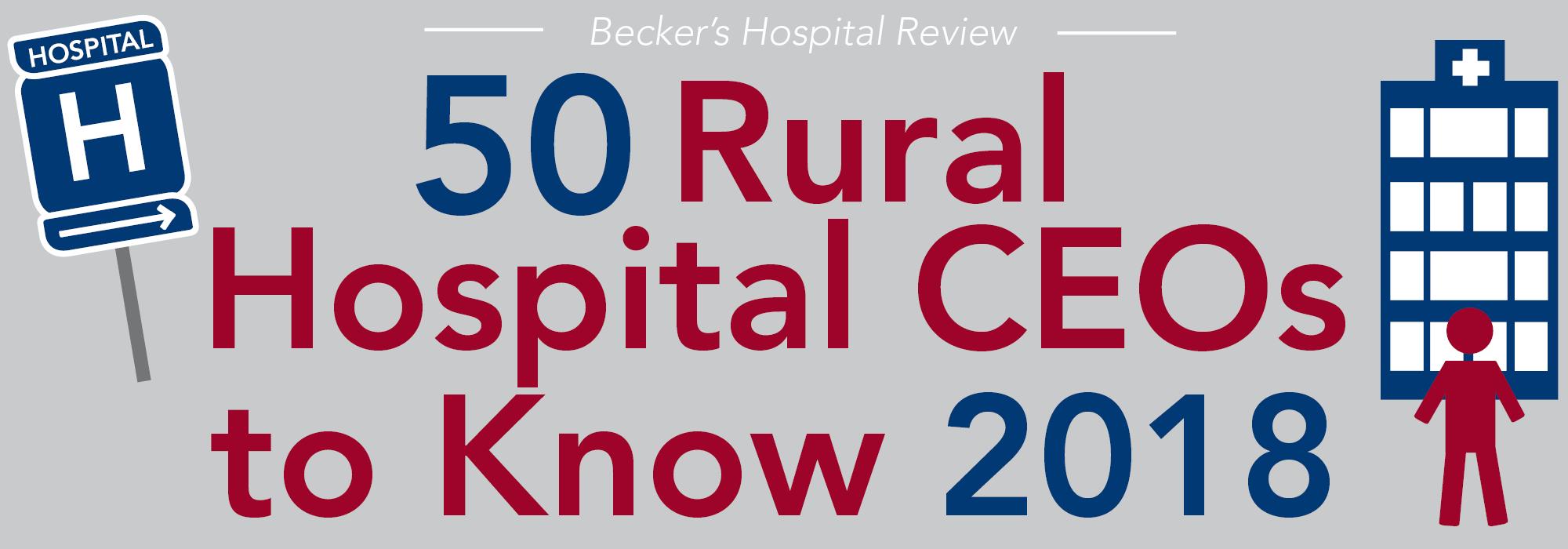 Rural Hospital CEOs 2018