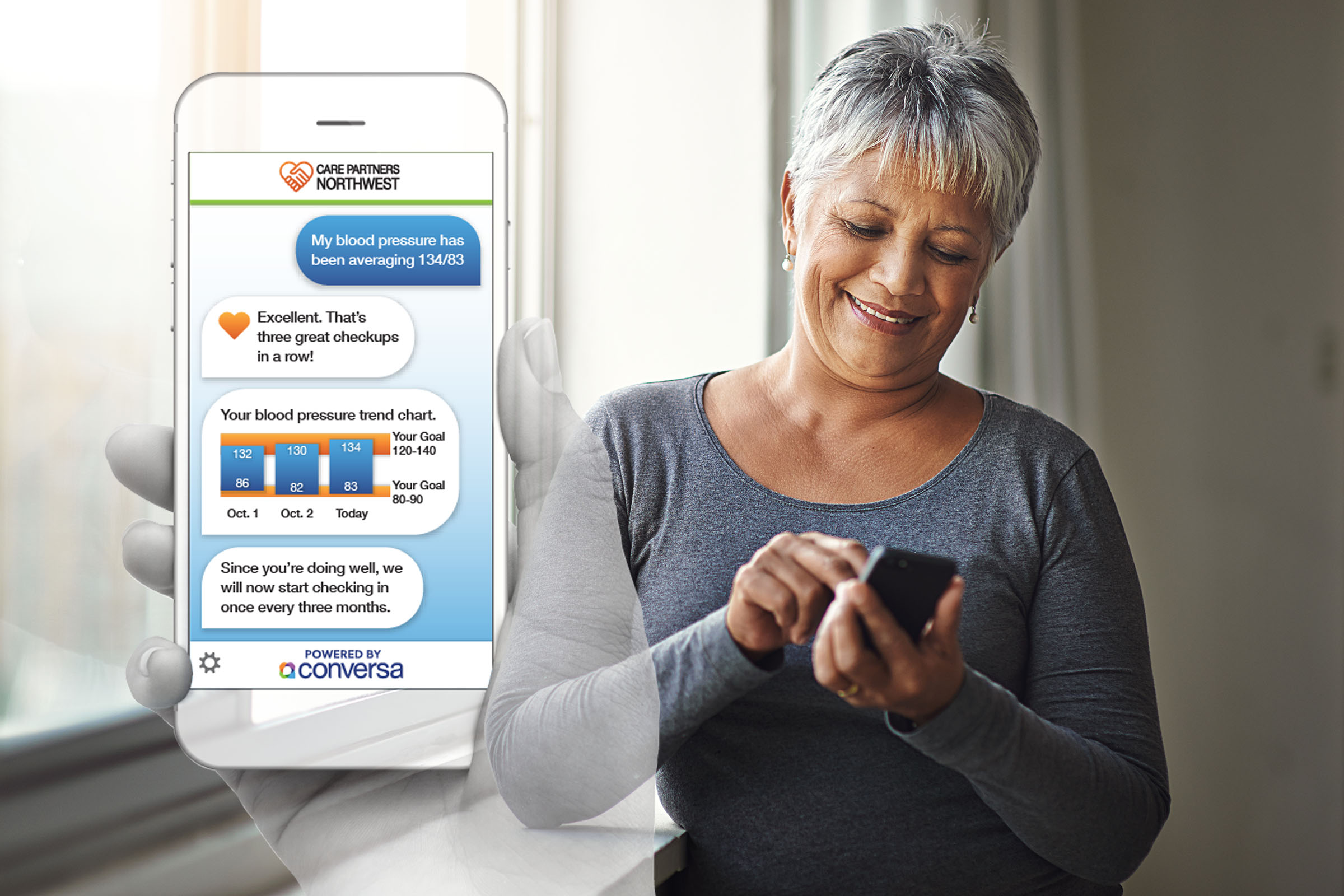 Conversa automated patient engagement