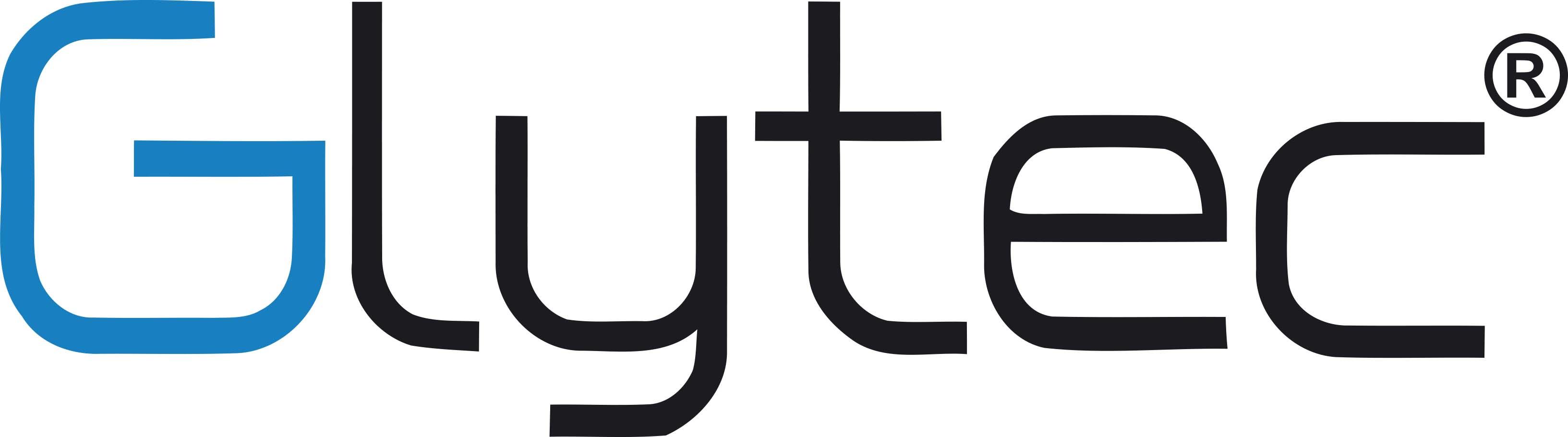 Glytec Logo Large Black Blue G