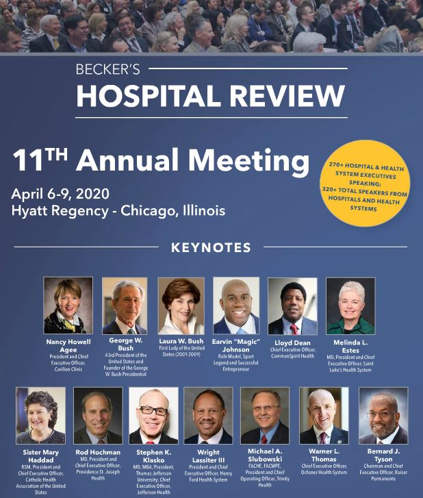 Becker's Hospital Review 8th Annual CEO + CFO Roundtable