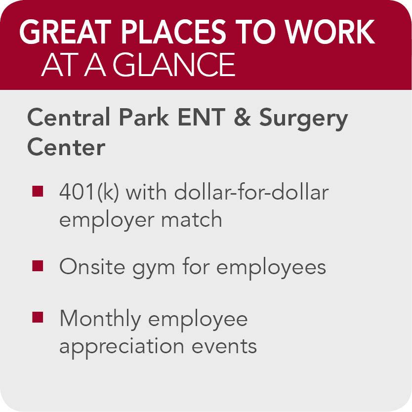 Central Park ENT Surgery Center Facts