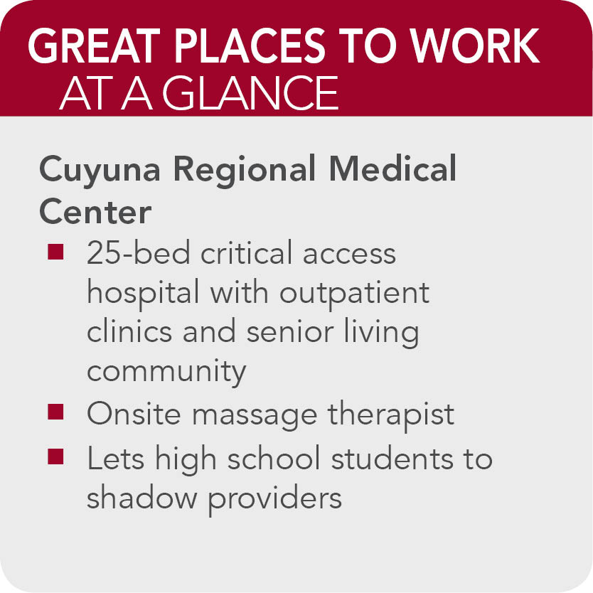 Cuyuna Regional Medical Center Facts