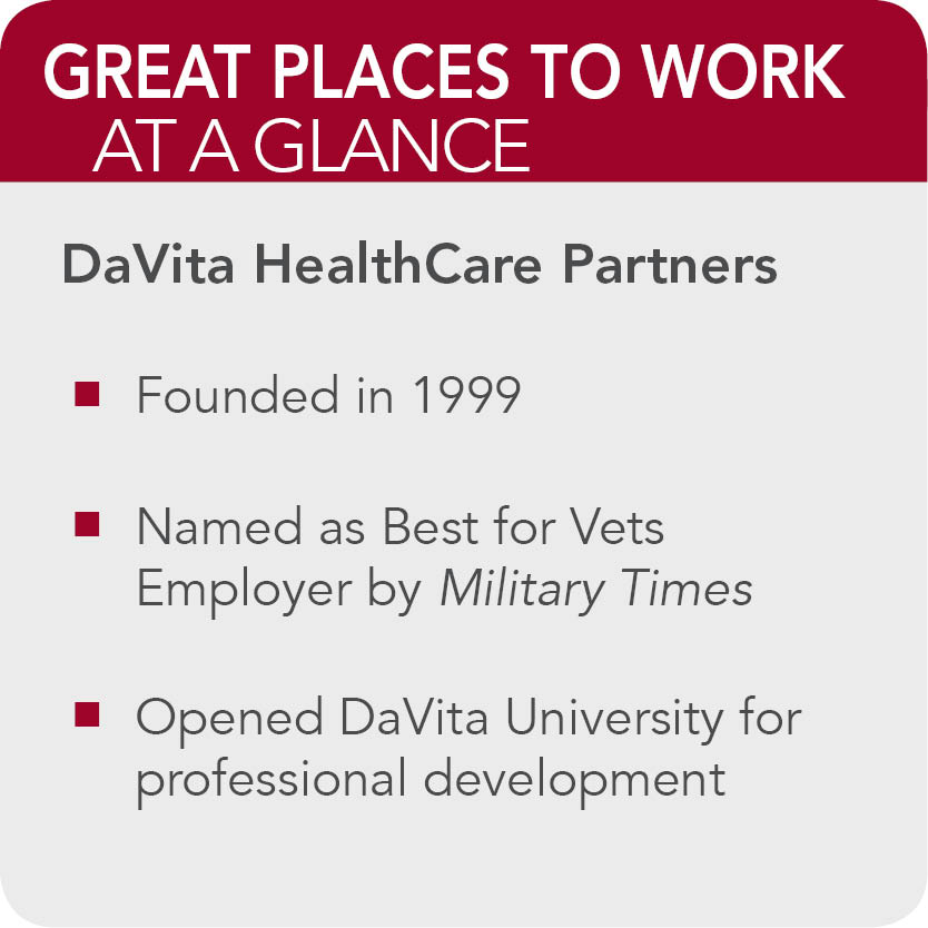 DaVita HealthCare Partners Facts