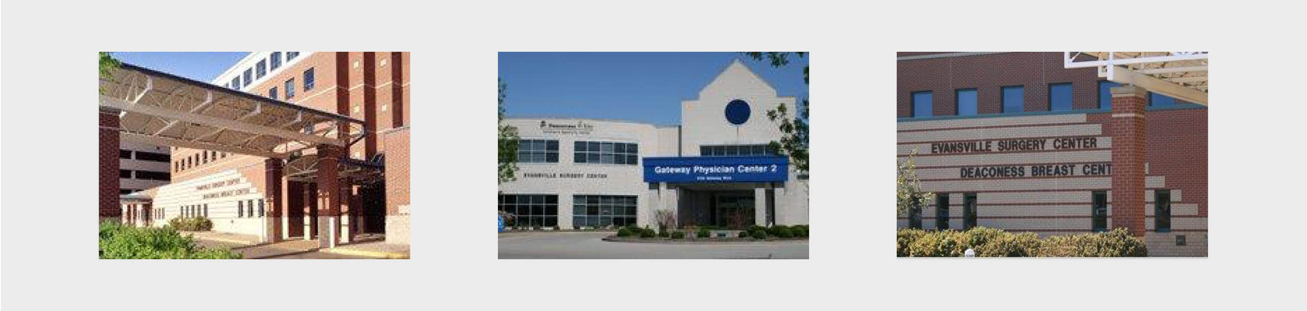 Evansville Surgery center Pictures