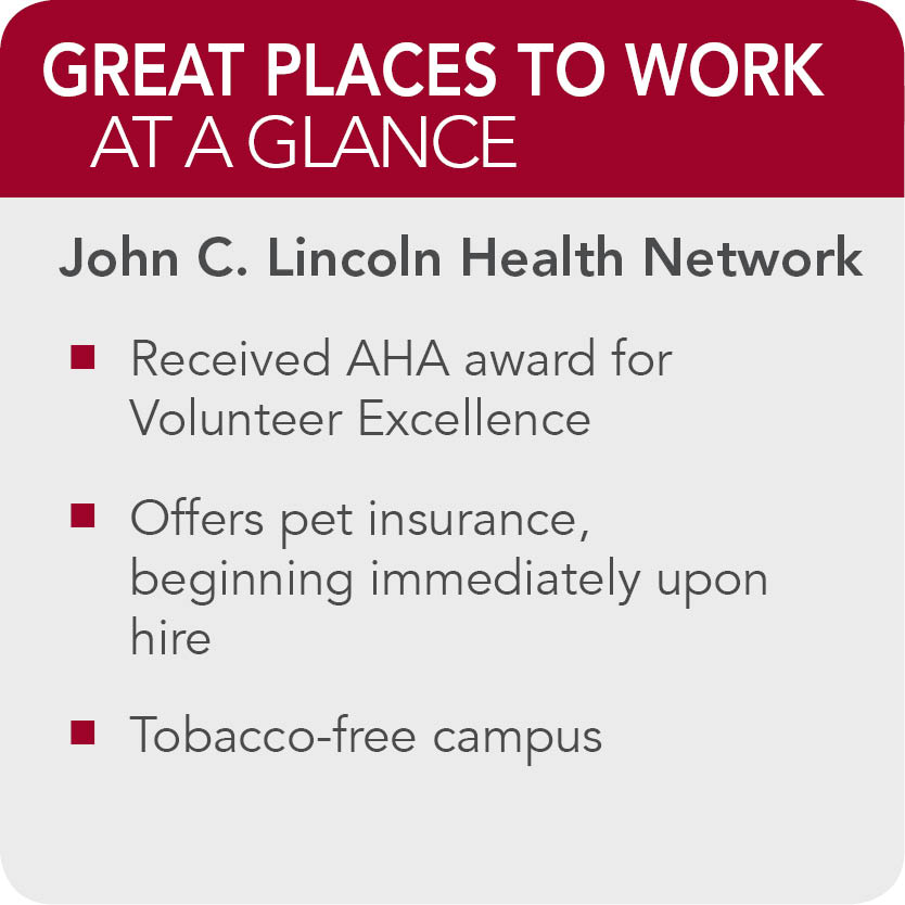 John C. Lincoln Health-Network facts