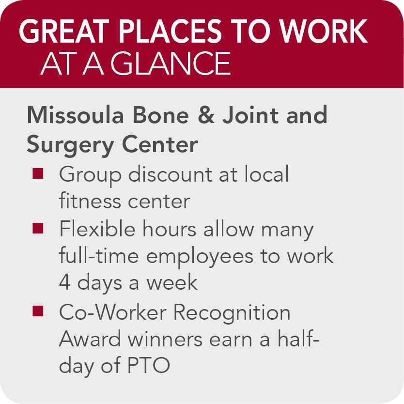 Missoula Bone Joint Surgery Center facts