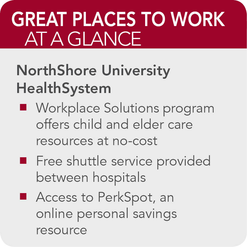 NorthShore University HealthSystem facts