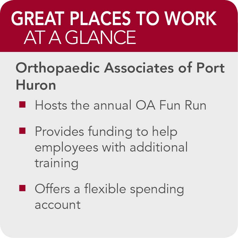 Orthopaedic Associates Port Huron facts