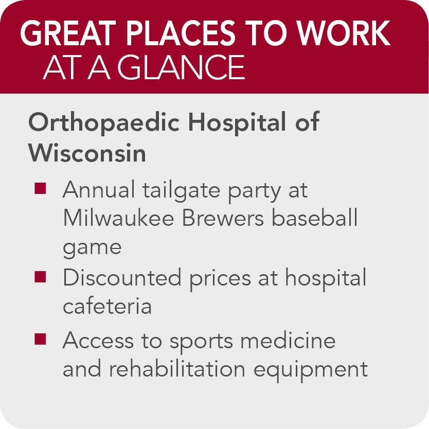 Orthopaedic Hospital of Wisconsin Facts