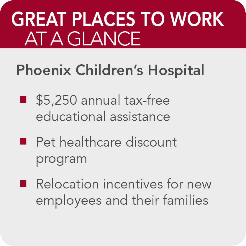 Phoenix Childrens Hospital Facts
