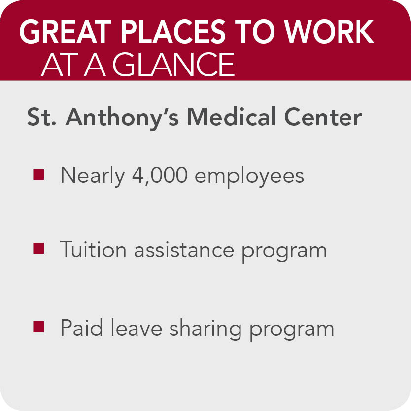 St Anthonys Medical center  facts
