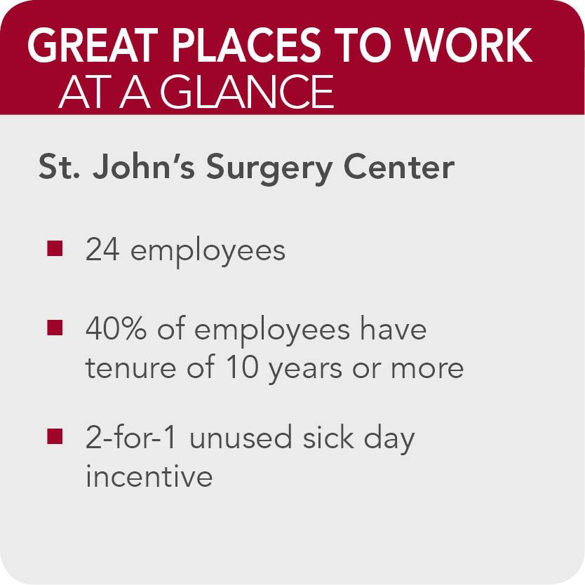 St johns Surgery center  facts
