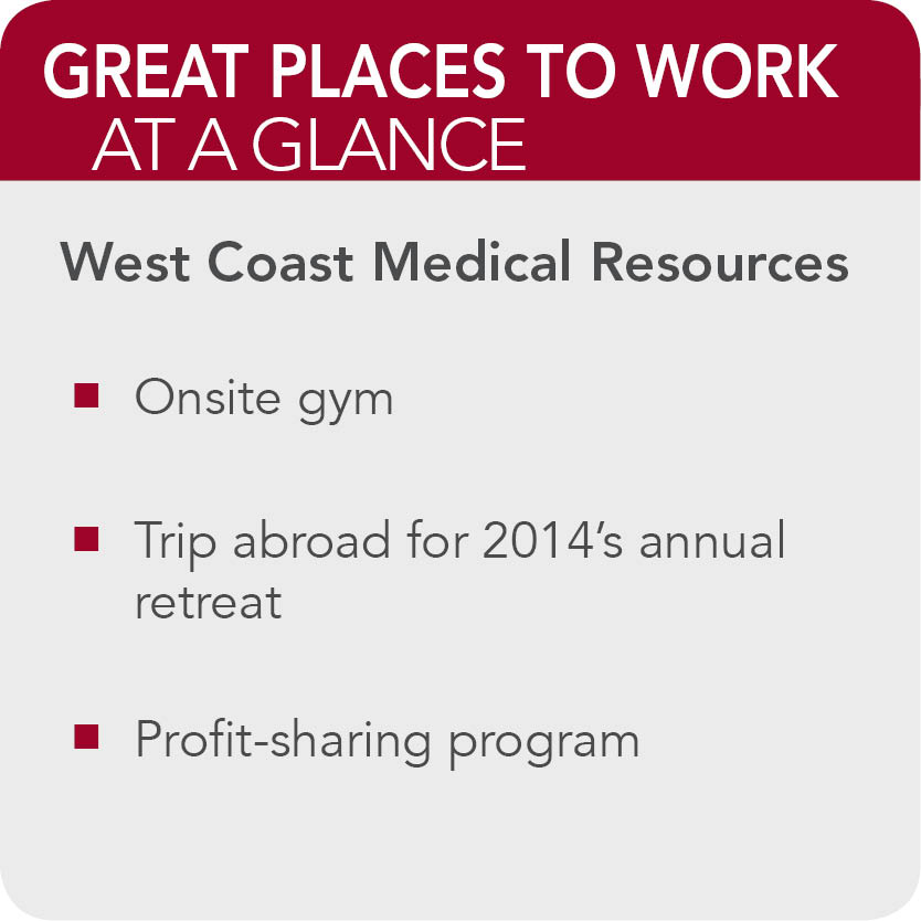 West Coast Medical Resources Facts