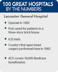 Lancaster General Hospital - 100 Great Hospitals in America