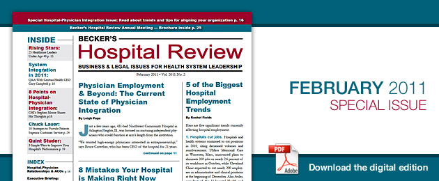 February 2011 Hospital Review Issue
