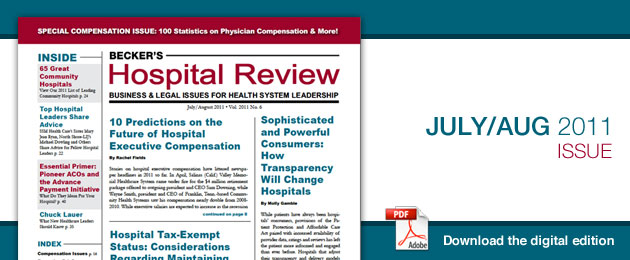 hospital review rh beckershospitalreview com