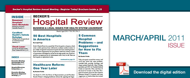 March 2011 Hospital Review Issue