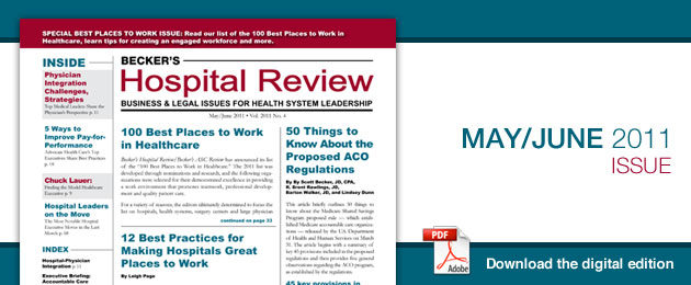 May 2011 Hospital Review Issue