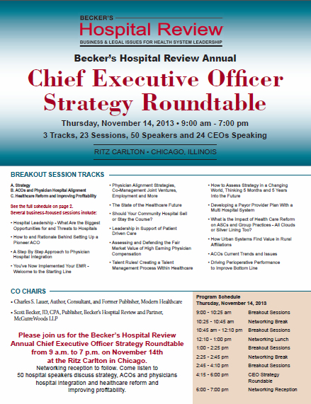 CEO Strategy Roundtable