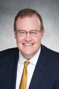 Bradley Haws, Chief Financial Officer and Associate Vice President of Finance, University of Iowa Health Care.